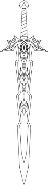 épéé warcraft modèle
