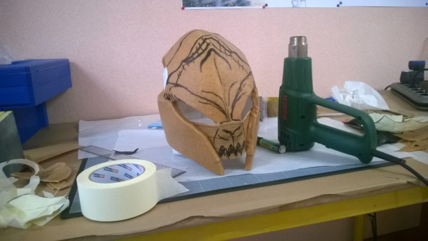 casque worbla cosplay