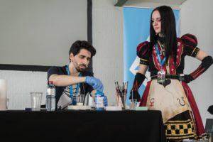 Workshop cosplay moulage Fantasy Basel