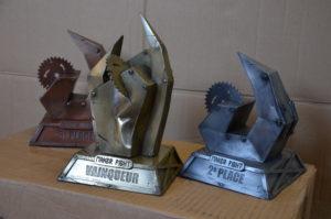 trophée combat robots