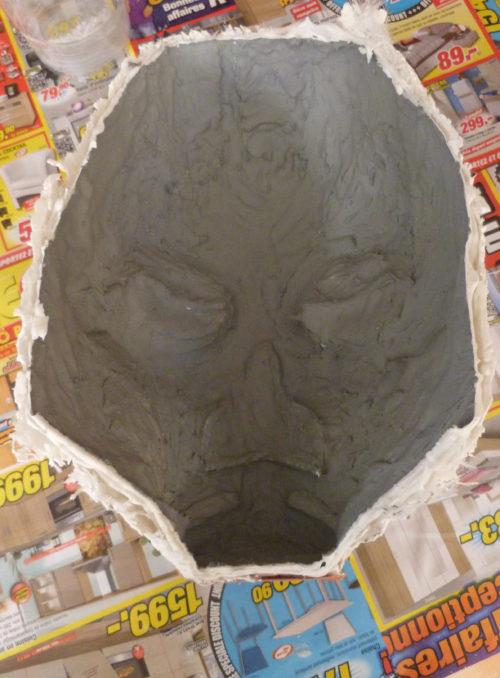 making resin mask