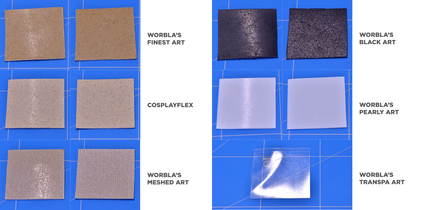 Comparison Worbla Cosplay