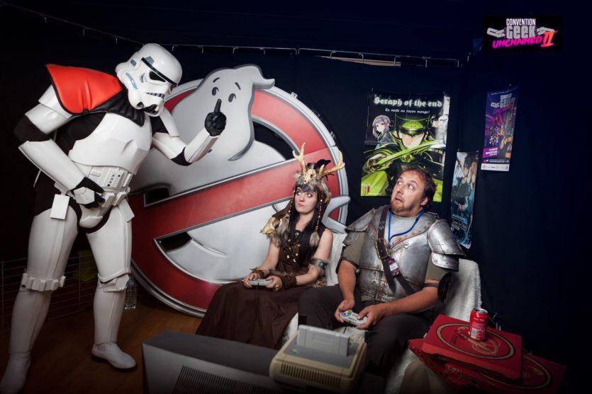 avec Aldarion Cosplay @ Convention Geek Unchained II