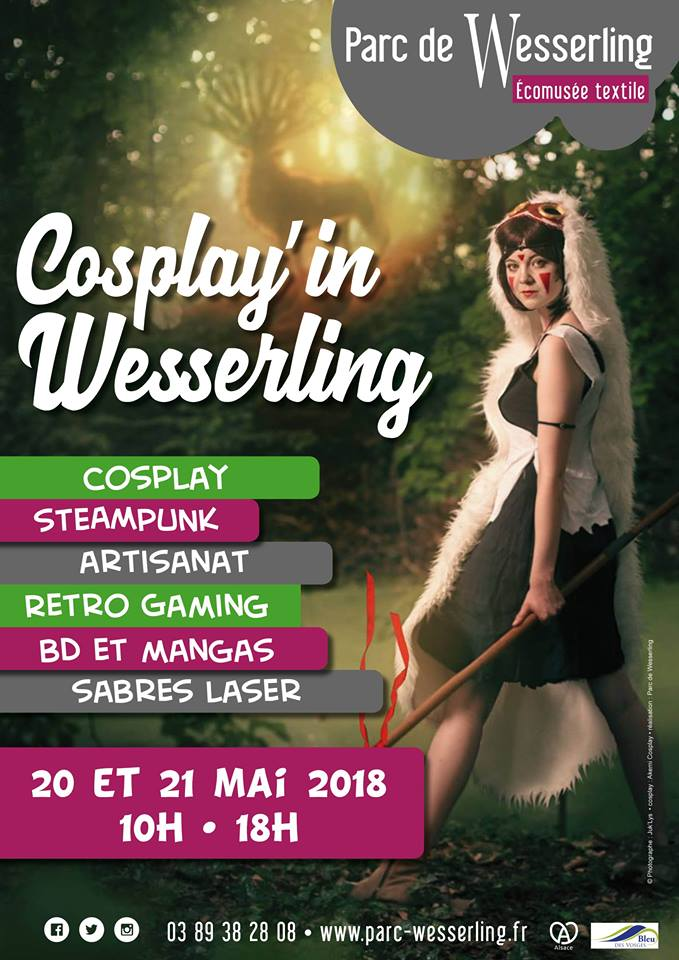 Cosplay'in Wesserling