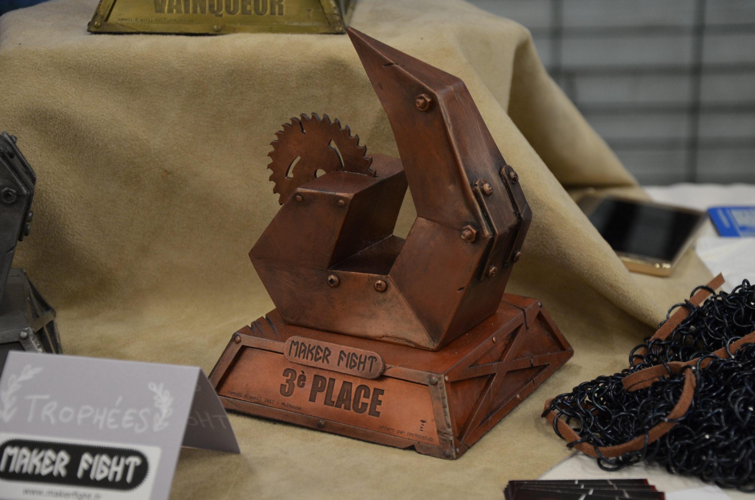 Trophées Makerfight : 3ème place