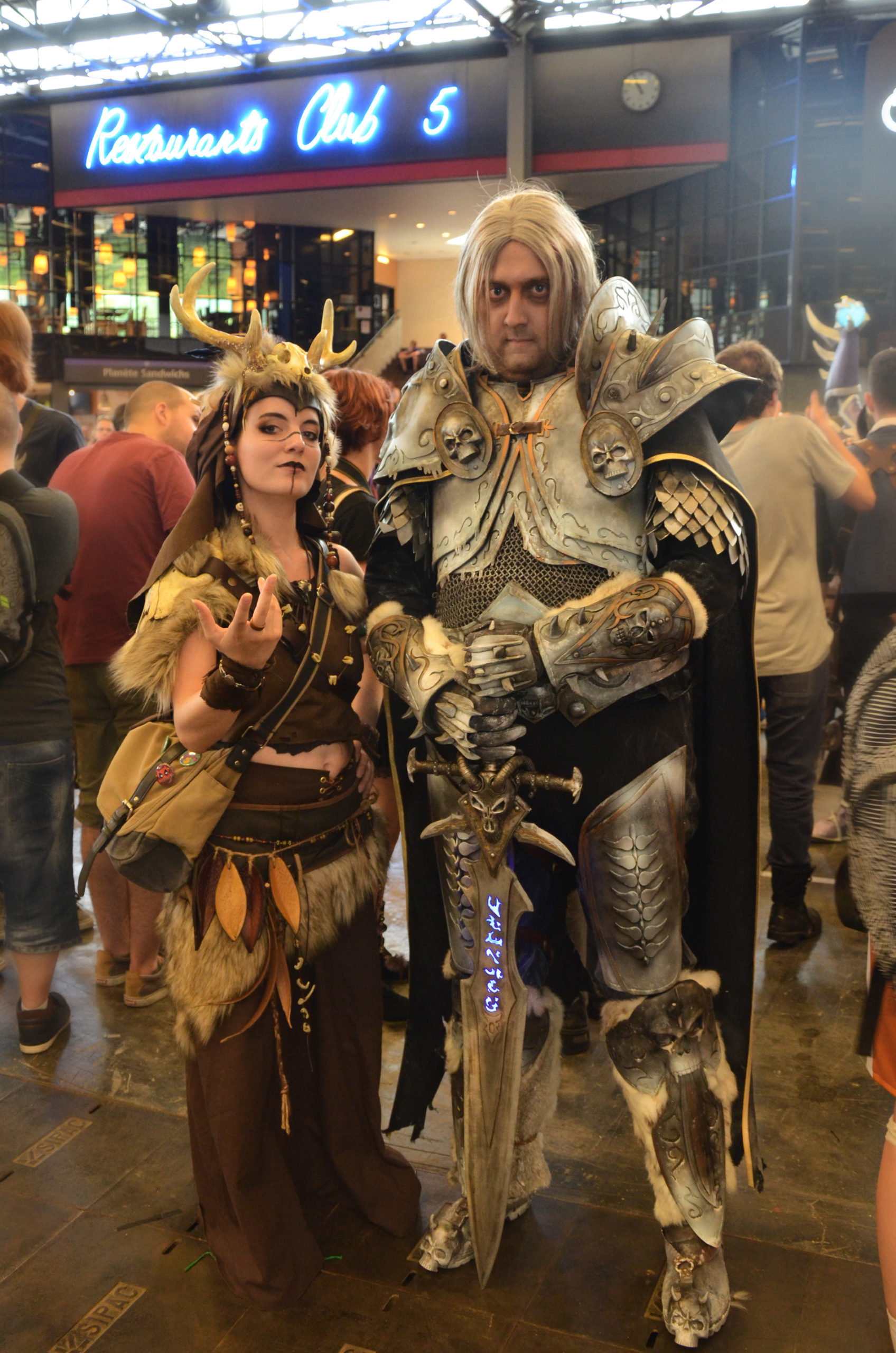 avec Aldarion Cosplay @ Japan Expo