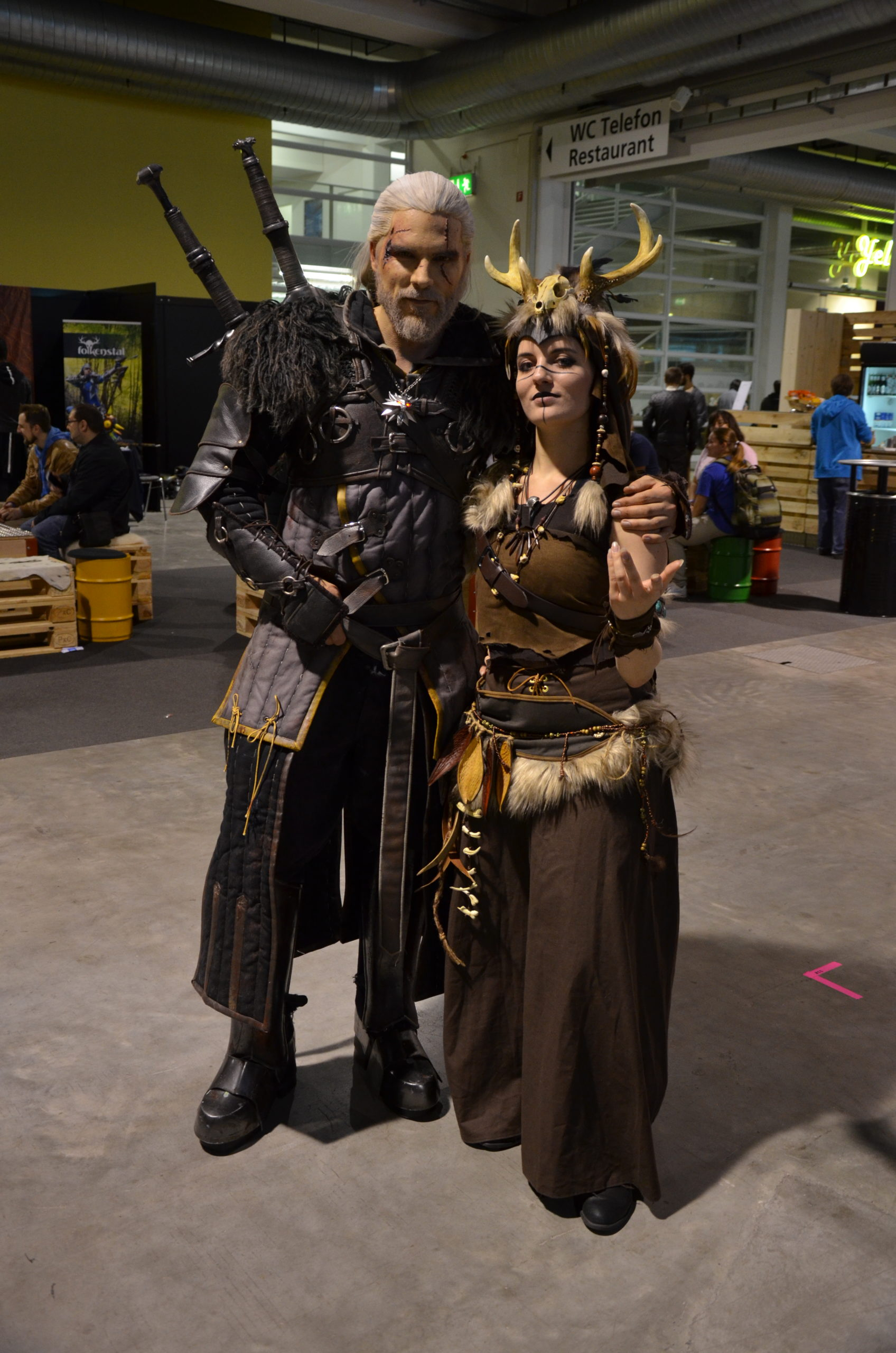 avec Maul Cosplay @ Zurich Game Show