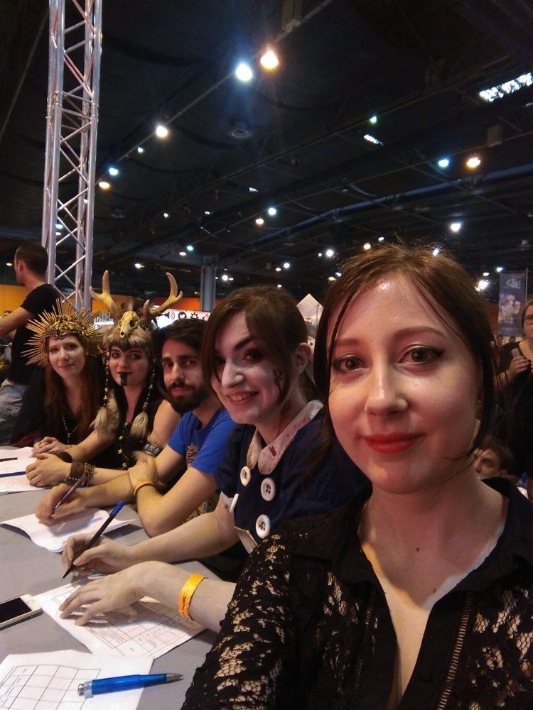Avec Lightning Cosplay, Nuna Cosplay et Taldeer (Cosplay & Craft) @DGMS