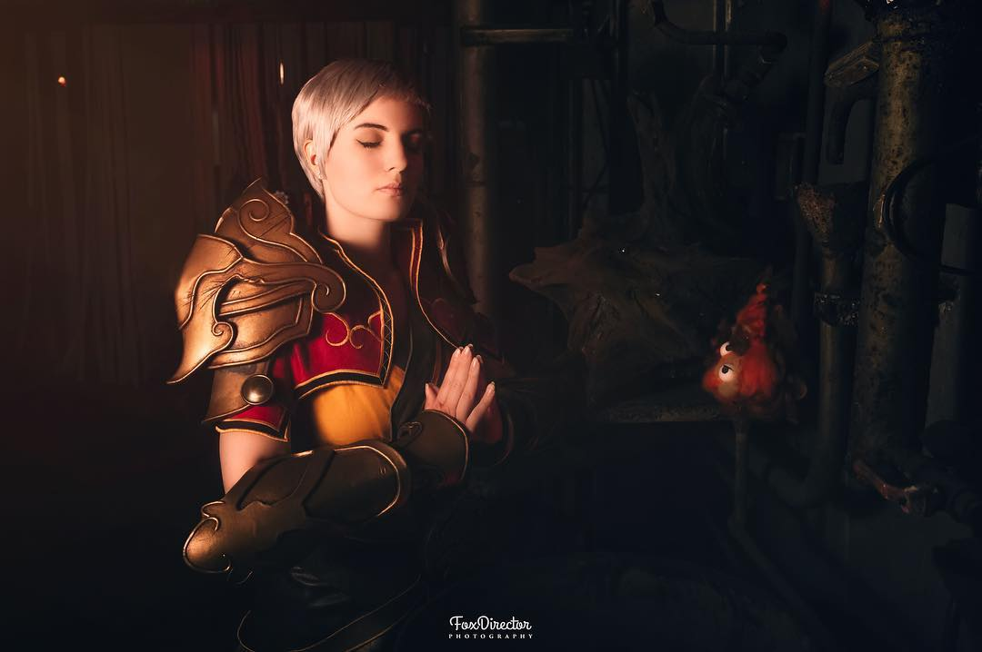 Female monk diablo cosplay foxdirector