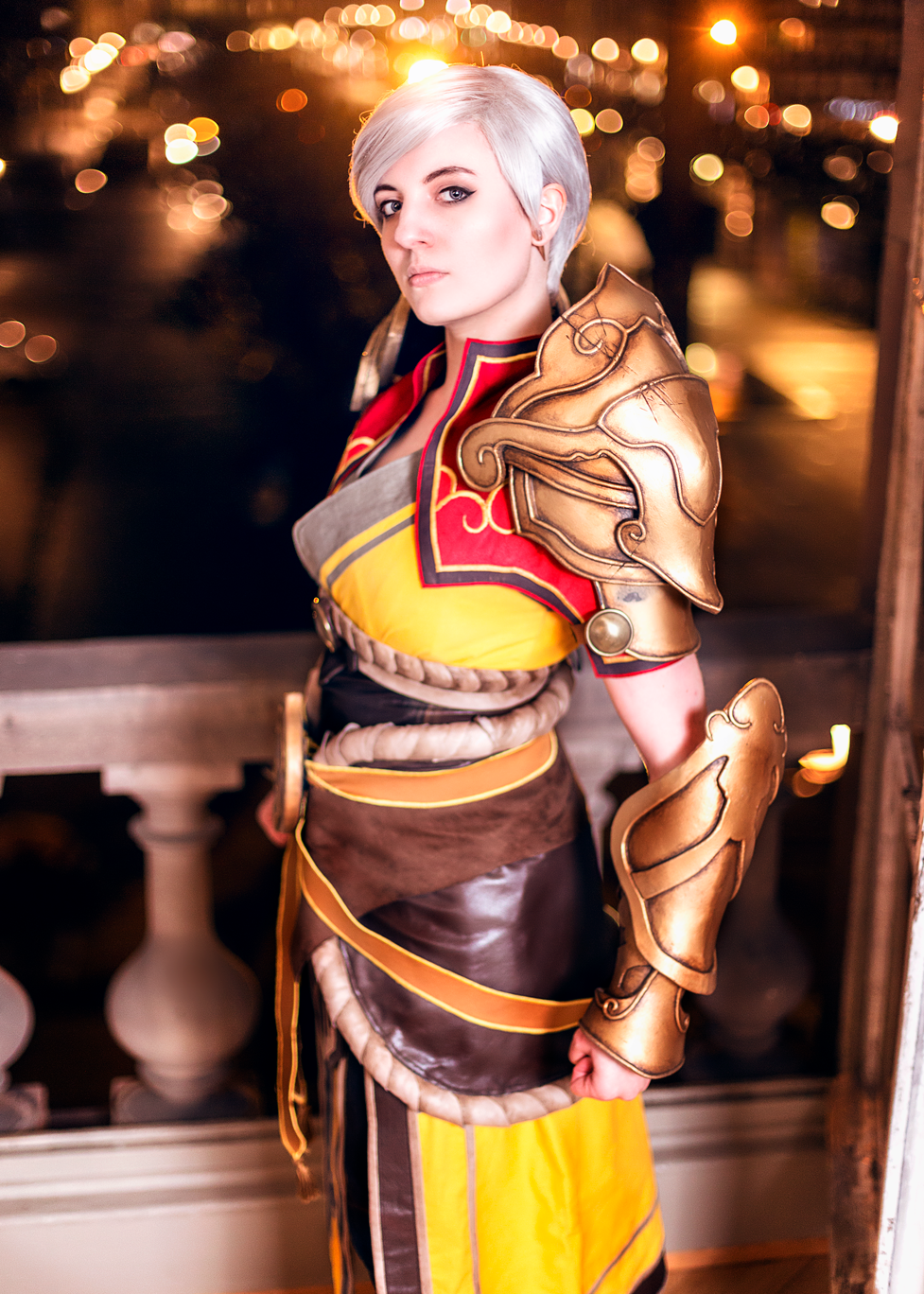 female monk diablo cosplay juk'lys