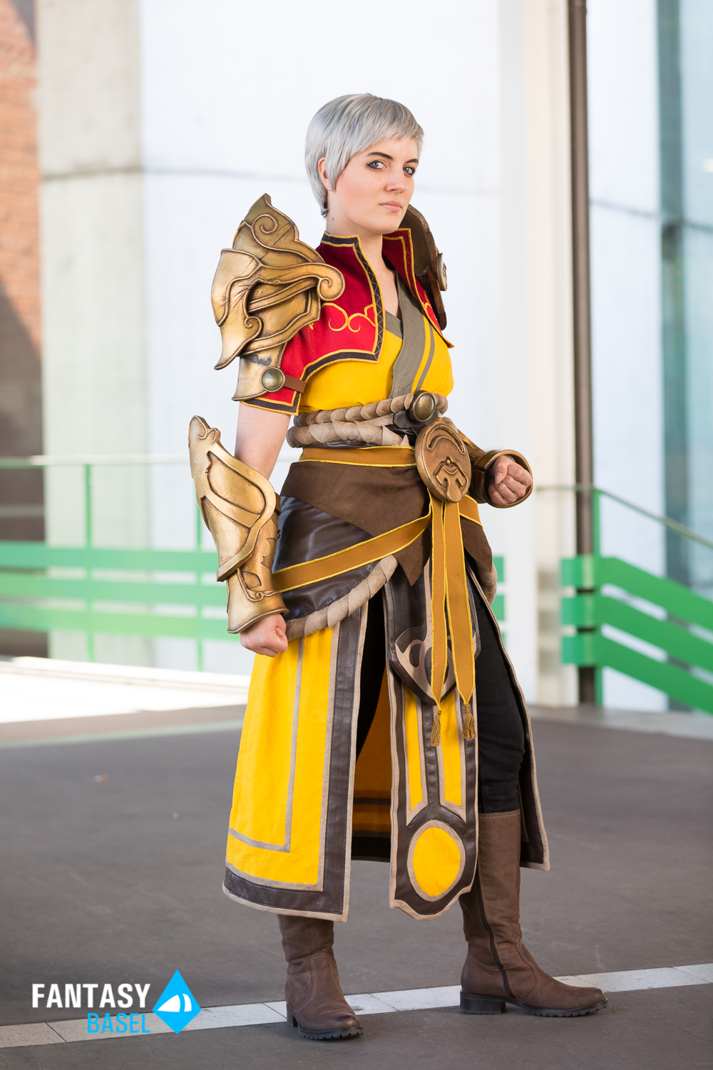 cosplay female monk diablo lightwav3er