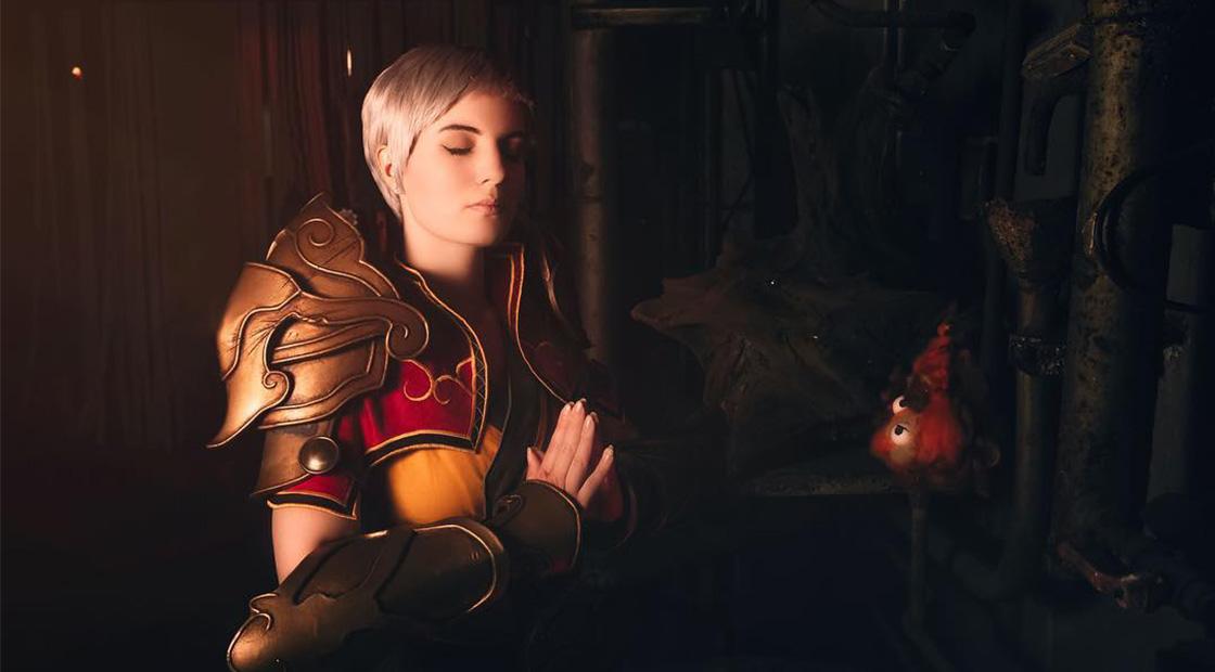 Female Monk Diablo Blizzard FoxDirector Photography