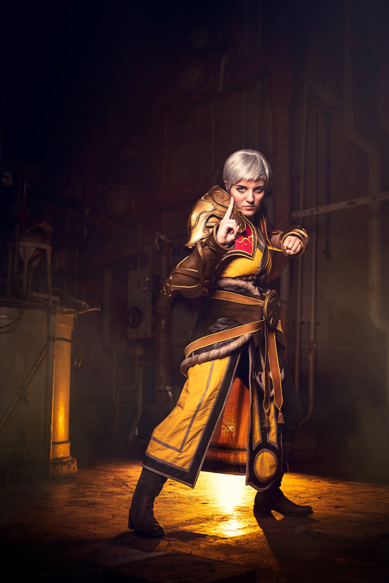 cosplay female monk diablo pmd photograph