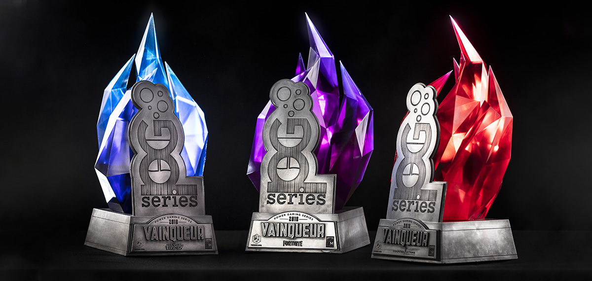 Process : Power Gaming Series 2018 Trophies