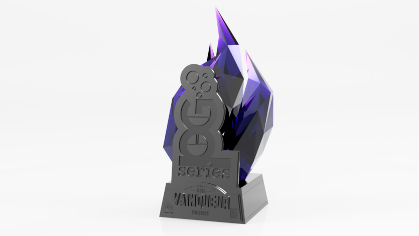 3D render of the PGS 2018 trophy