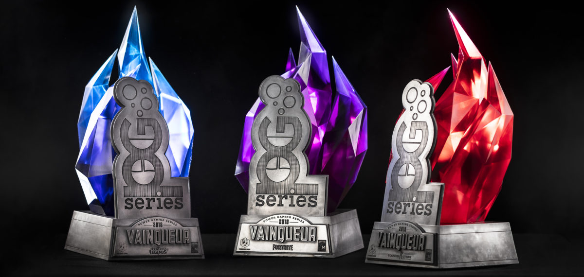 Process : Trophée des Power Gaming Series 2018